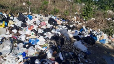 Photo of Boca Chica con basura en todas partes, tras empresa recolectora retirar sus equipos