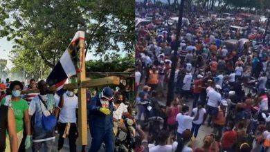 Photo of Gobierno y PRM se acusan por manifestación del peregrino en Puerto Plata ¿ambos tienen razón?