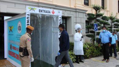 Photo of Palacio Nacional instala túnel desinfección por Covid-19