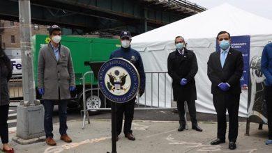 Photo of Oficiales electos y consulado RD ponen en marcha centro pruebas COVID-19 en Alto Manhattan