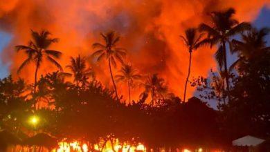 Photo of Incendio destruye parte del hotel Bahía Príncipe de Samaná