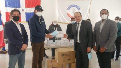 Photo of Gonzalo Castillo dona 5 mil mascarillas al Colegio de Abogados de la RD