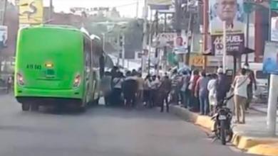 Photo of A pesar de las anunciadas medidas de seguridad, paradas OMSA lucen abarrotadas