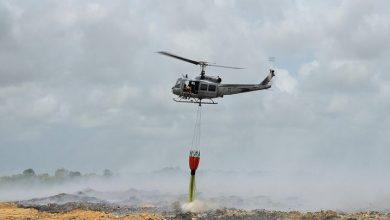 Photo of En el vertedero de Duquesa controlan el fuego por zonas