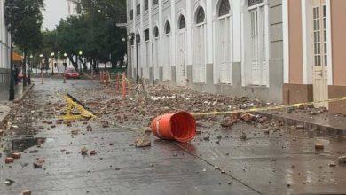 Photo of Sismo de magnitud 5.0 en Puerto Rico produce daños en el casco urbano de Ponce