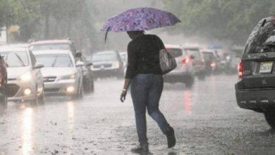 Photo of Más lluvias y tormentas eléctricas se esperan este lunes por vaguada