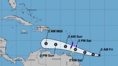 Photo of Gonzalo avanza hacia las Antillas; se forma tormenta tropical Hanna