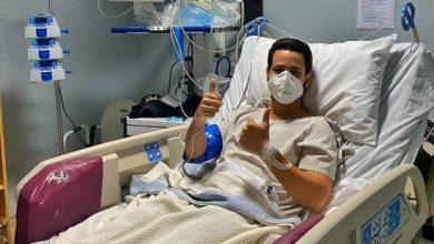 Photo of Youtuber Carlos Durán en cuidados intensivos