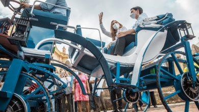 Photo of Alcaldesa Carolina Mejía encabeza lanzamiento de los primeros carruajes eléctricos de la ciudad