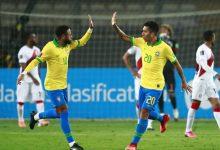 Photo of Con triplete de Neymar, Brasil remonta y vence 4-2 a Perú