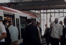 Photo of Luis Abinader recorre Metro de Santo Domingo acompañado de funcionarios
