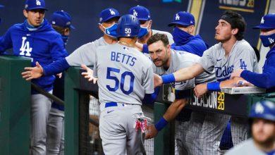 Photo of Dodgers a la SCLN con barrida sobre Padres