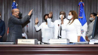 Photo of Cámara de Diputados juramenta a tres nuevos diputados que llenaron vacantes en PRM