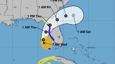 Photo of 'Eta' gana fuerza en el golfo de México y recupera la categoría de huracán