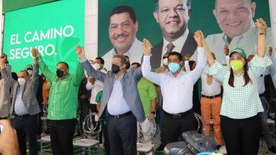 Photo of Leonel Fernández juramenta en su partido a más de mil personas
