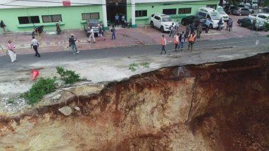 Photo of CODIA advierte terreno en construcción en Gascue podría seguir derrumbándose