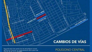 Photo of Este sábado se inicia segunda fase de cambio de vías en el Distrito Nacional
