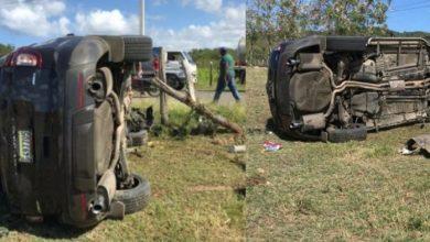 Photo of Choque entre una yipeta y un motor deja dos personas muertas en Puerto Plata