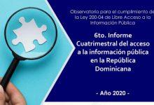 Photo of ADOCCO Presenta 6to. Informe de Cumplimiento de la Ley de Libre Acceso a la Información Pública