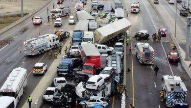 Photo of Al menos 6 muertos y 65 heridos tras un choque masivo en Texas