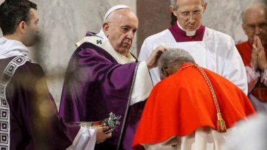Photo of Papa celebró Miércoles de ceniza con misa con pocos fieles y nuevo rito