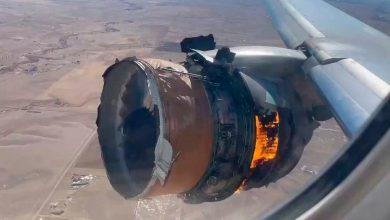 Photo of Avión regresa a aeropuerto en EEUU tras perder partes del motor en vuelo