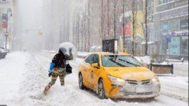 Photo of Unas 50 ciudades del estado NY declaradas en emergencia por la nieve; dominicanos afectados