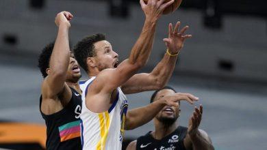 Photo of Stephen Curry guía a Warriors a triunfo sobre Spurs