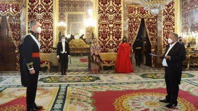 Photo of Juan Bolívar Díaz presenta cartas credenciales como embajador ante el Rey de España