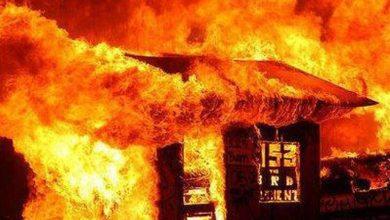 Photo of Matan a tiros capitán de la Policía; familiares del agente queman casa del victimario
