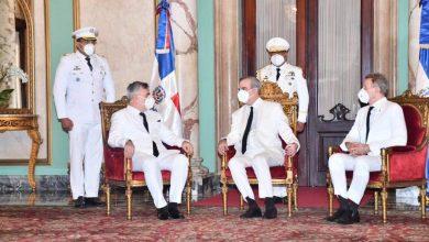Photo of Luis Abinader recibe cartas credenciales embajadores de Rusia, Canadá y Corea del Sur