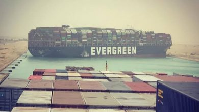 Photo of Liberan barco de contenedores del Canal de Suez