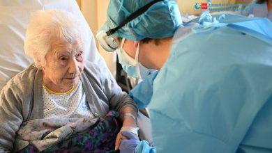 Photo of Una mujer de 104 años, la primera anciana vacunada contra el COVID-19 en el Perú