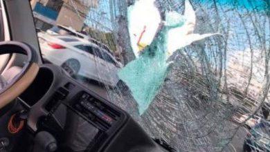 Photo of Dos jóvenes heridos tras alguien lanzar bloque de concreto por el túnel de la avenida 27 de Febrero
