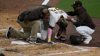 Photo of Fernando Tatis Jr. sufre una subluxación de hombro
