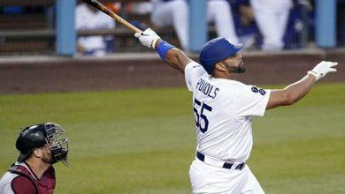 Photo of Dodgers barren a D-backs con HR de Pujols