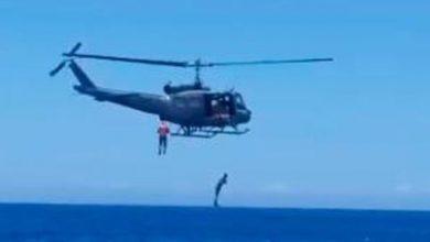 Photo of Se lesionan tres miembros de la Fuerza Aérea durante entrenamiento en helicóptero