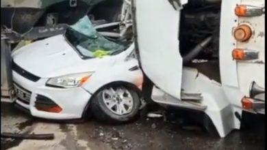 Photo of Al menos un herido durante accidente de tránsito en la 6 de Noviembre