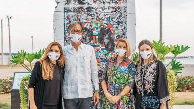 Photo of Alcaldesa Carolina Mejía recibe fragmento del Muro de Berlín donado por Embajada de Alemania