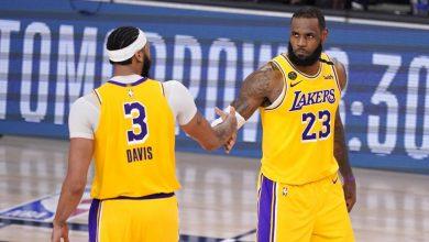 Photo of Davis y LeBron conducen a los Lakers a empatar la serie con los Suns de Phoenix