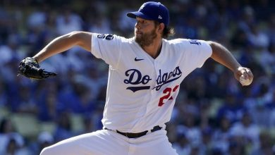 Photo of Kershaw domina y L.A. supera a Chicago