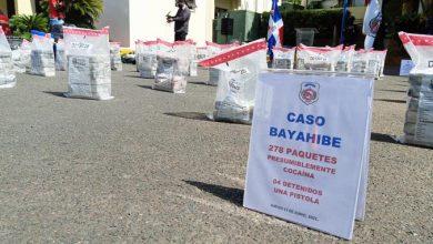 Photo of Incautan 278 paquetes de droga; apresa a cuatro colombianos
