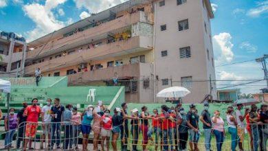 Photo of Asistencia masiva a jornada especial de vacunación de COVID-19