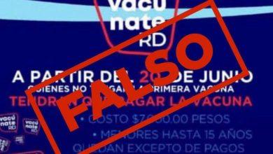 Photo of Salud Pública aclara no hay que pagar por la vacuna contra el coronavirus