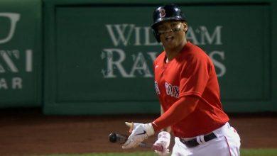 Photo of Hit de oro de Devers le da triunfo a Boston