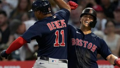 Photo of Devers, Kike brillan en victoria de Boston
