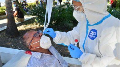 Photo of La positividad al coronavirus sigue descendiendo; reportan tres muertes y 549 contagios