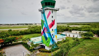 Photo of Torre de Control del Aeropuerto Internacional Punta Cana se convierten en obra de arte