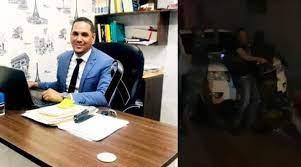 Photo of Ultiman abogado durante discusión con agentes de la Policía en San José de Ocoa
