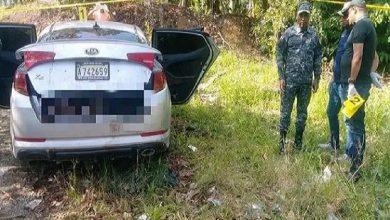 Photo of Encuentran cadáveres en baúl de un carro calcinado